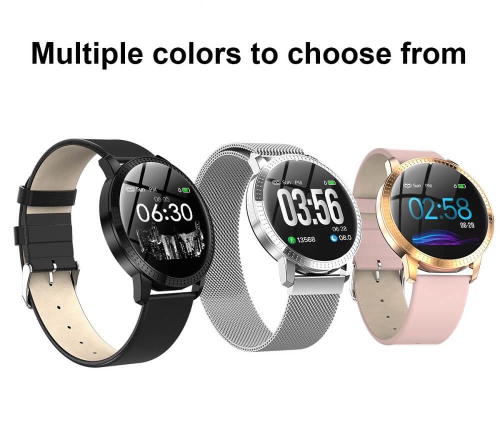 CF18 Waterproof Smartwatch Blood Pressure Monitor Smart Watch Women Band 42
