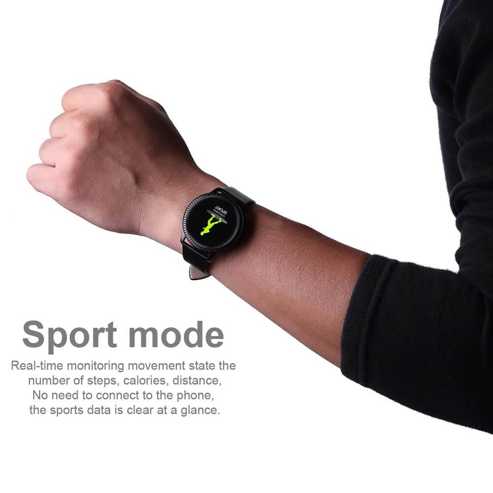 CF18 Waterproof Smartwatch Blood Pressure Monitor Smart Watch Women Band 7