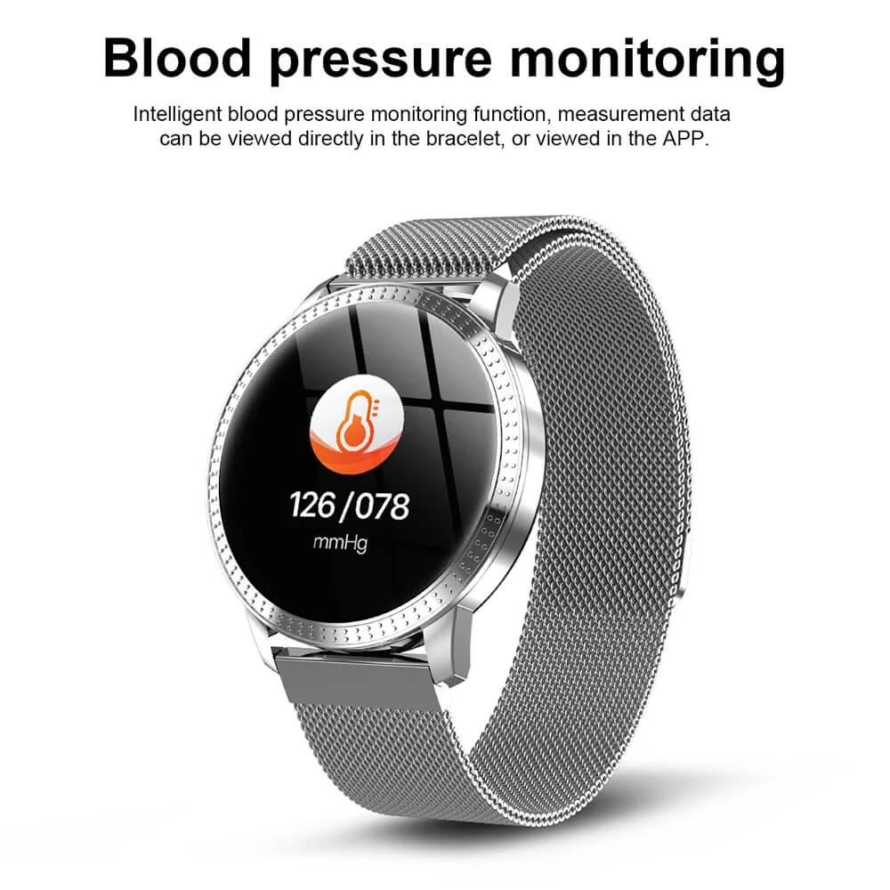 CF18 Waterproof Smartwatch Blood Pressure Monitor Smart Watch Women Band 11