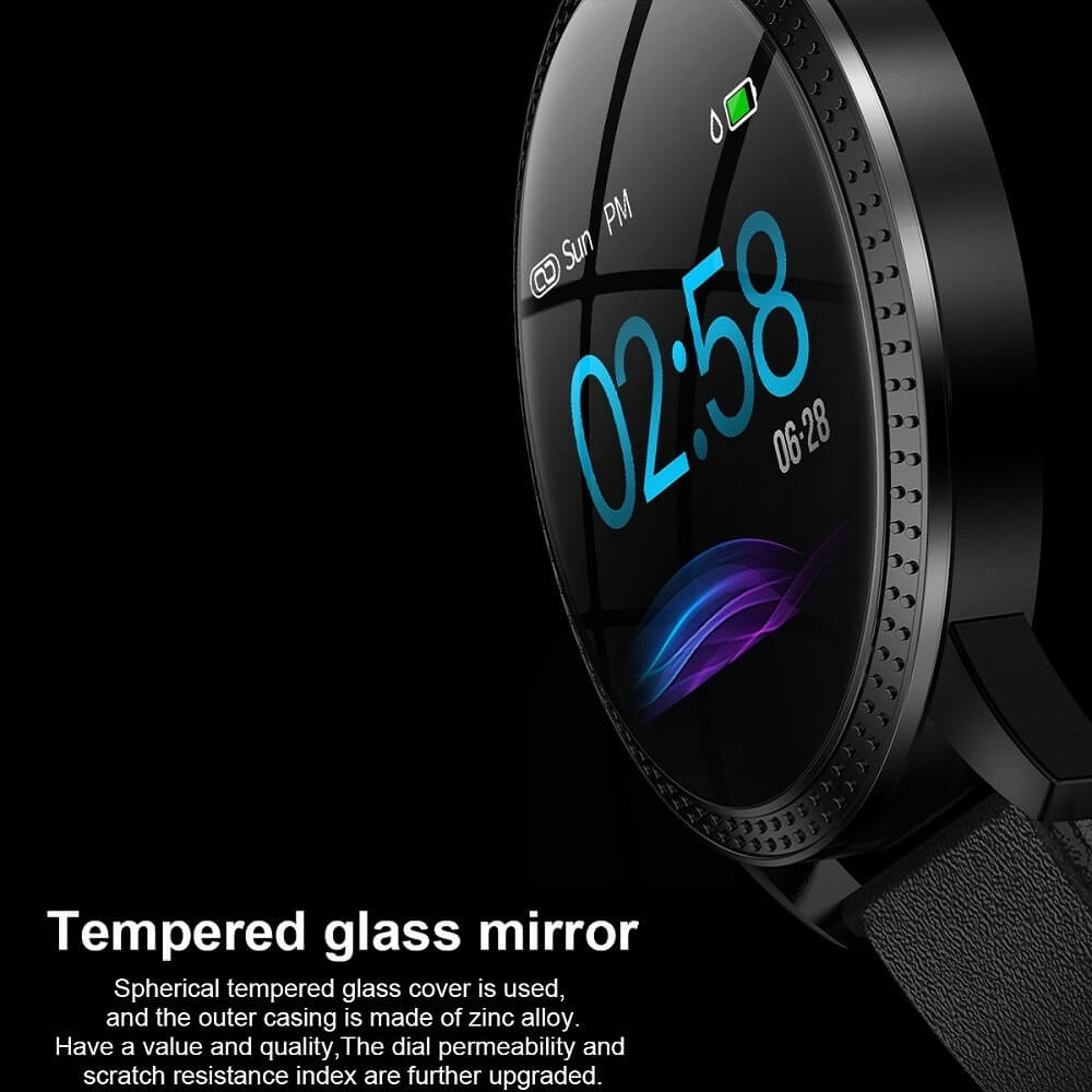 CF18 Waterproof Smartwatch Blood Pressure Monitor Smart Watch Women Band 18