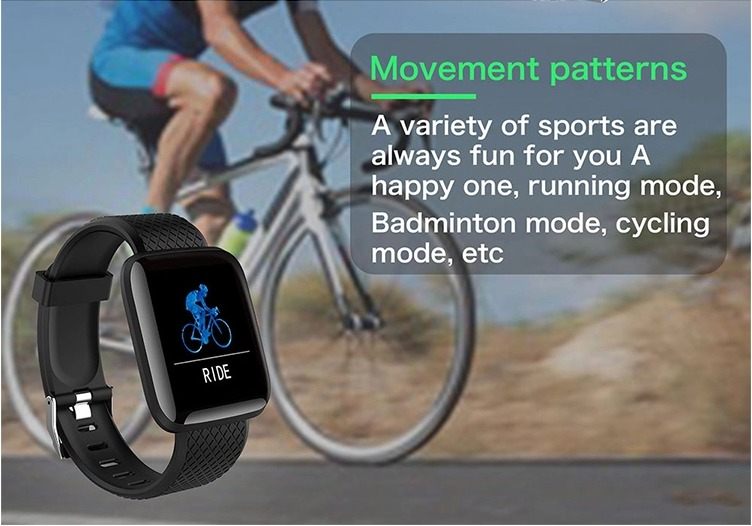 D13 Smartwatch Men Women For Android IOS Waterproof Heart Rate Tracker Sport Smart Watch 20