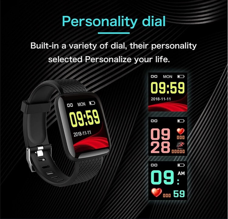 D13 Smartwatch Men Women For Android IOS Waterproof Heart Rate Tracker Sport Smart Watch 26