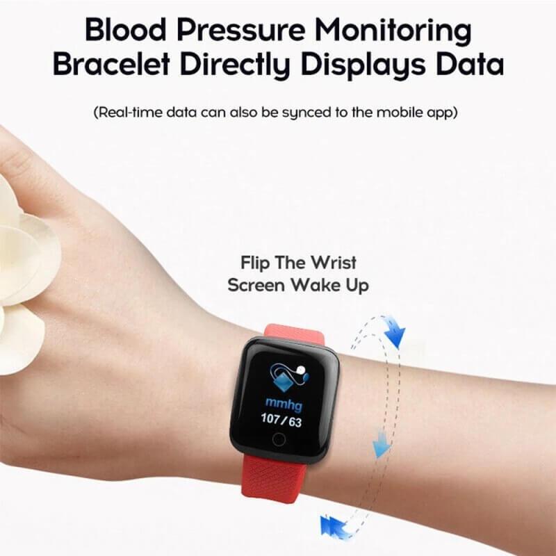D13 Smartwatch Men Women For Android IOS Waterproof Heart Rate Tracker Sport Smart Watch 5