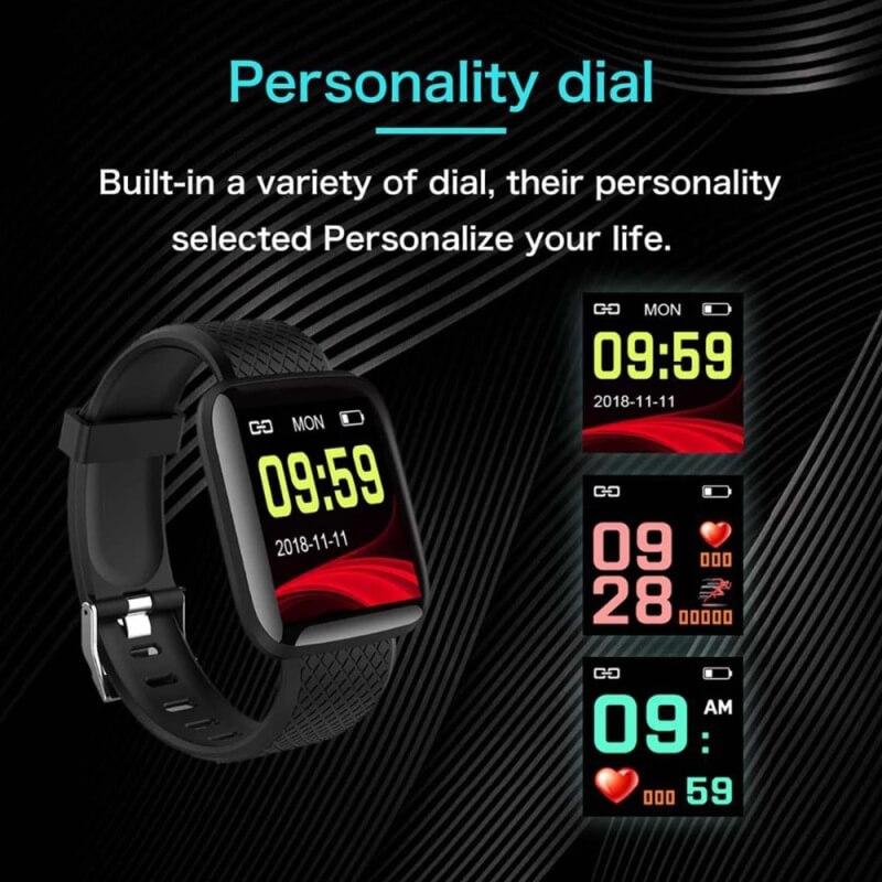 D13 Smartwatch Men Women For Android IOS Waterproof Heart Rate Tracker Sport Smart Watch 7