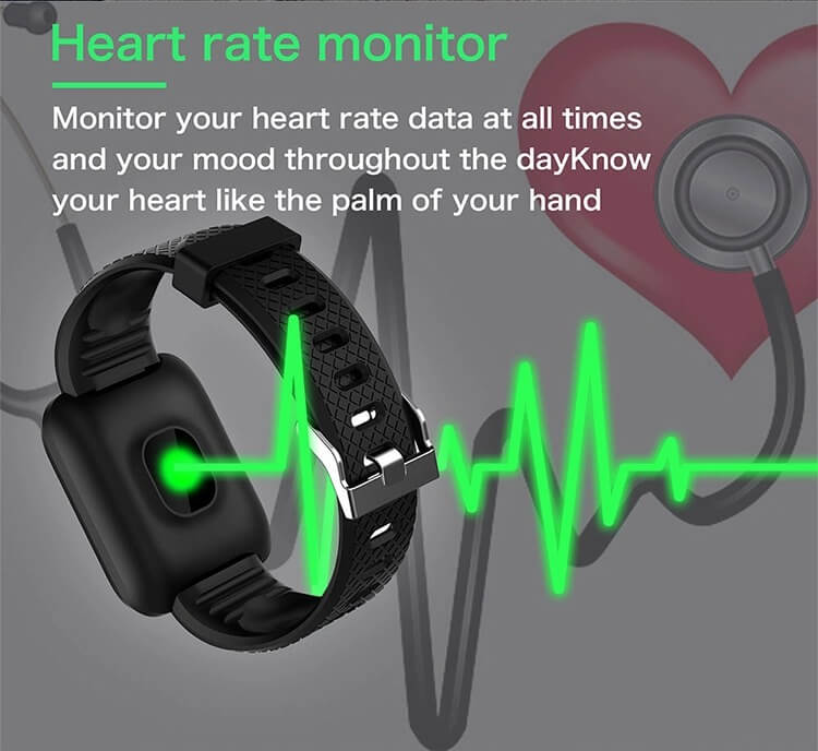 D13 Smartwatch Men Women For Android IOS Waterproof Heart Rate Tracker Sport Smart Watch 16