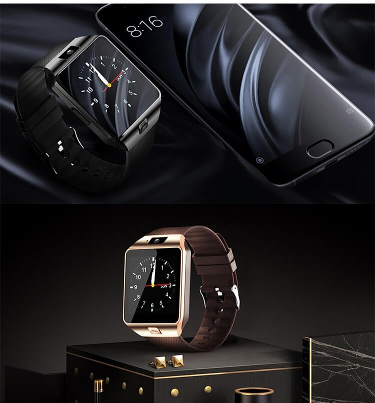 DZ09 Smartwatch Cheap Mobile Phone Watch Smart Wrist Watch Phone with Touch Screen Camera 32
