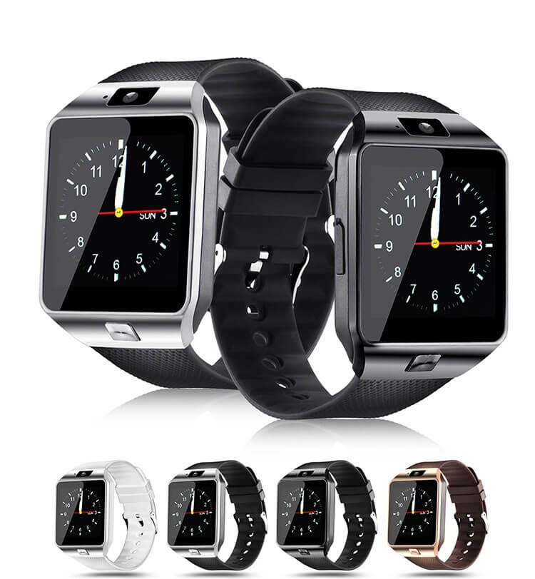 DZ09 Smartwatch Cheap Mobile Phone Watch Smart Wrist Watch Phone with Touch Screen Camera 36