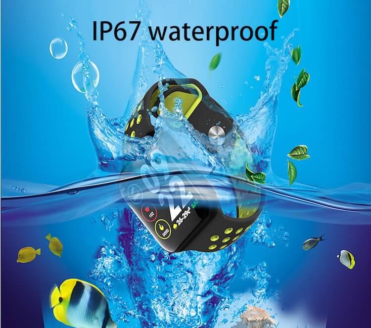 F8 Touch Screen Smartwatch Smart Bracelet Waterproof Smart watch Heart Rate Monitor 18
