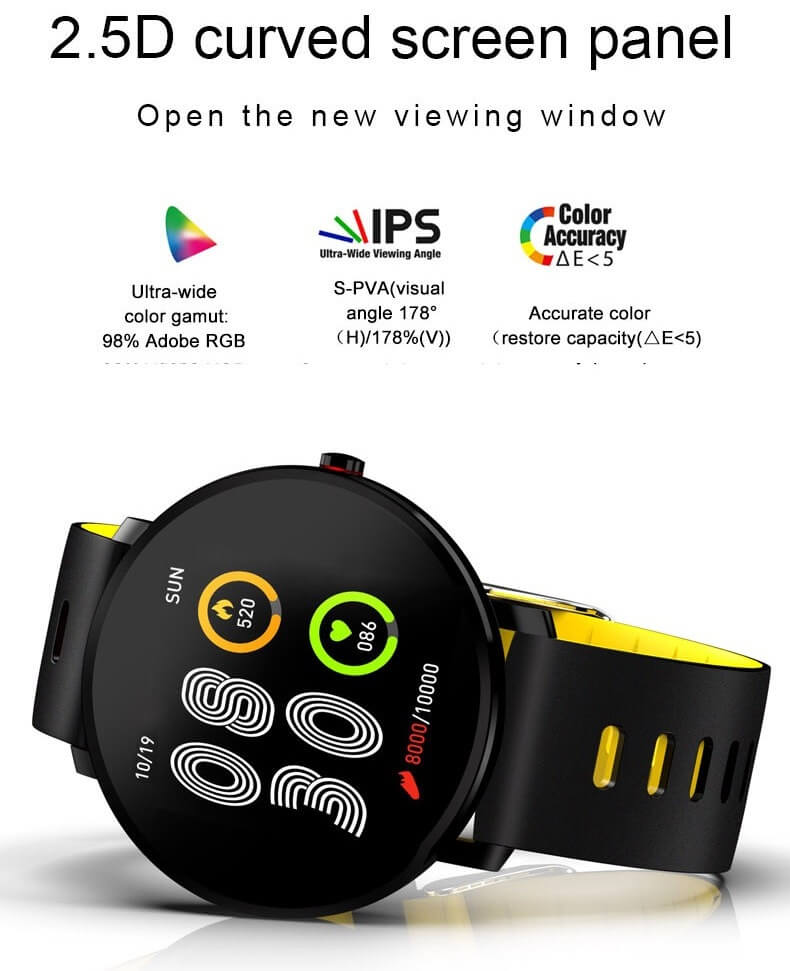 K9 Bracelet Heart Rate Smartwatch Waterproof Weather Forecast Smart Watch 2019 20