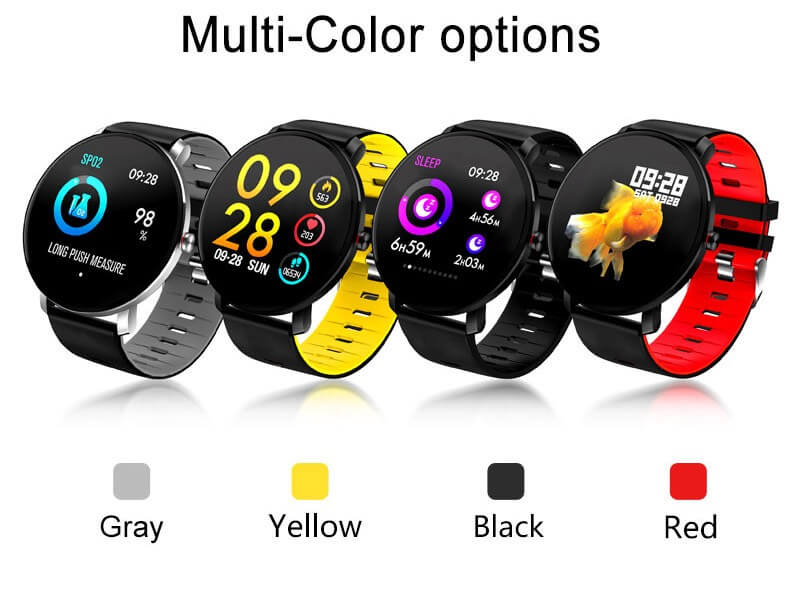 K9 Bracelet Heart Rate Smartwatch Waterproof Weather Forecast Smart Watch 2019 38