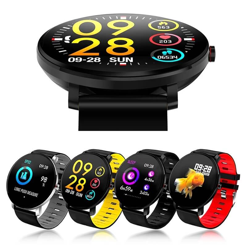 K9 Bracelet Heart Rate Smartwatch Waterproof Weather Forecast Smart Watch 2019 7