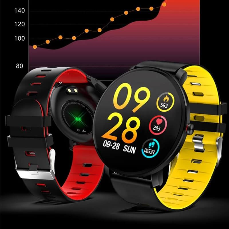 K9 Bracelet Heart Rate Smartwatch Waterproof Weather Forecast Smart Watch 2019 9