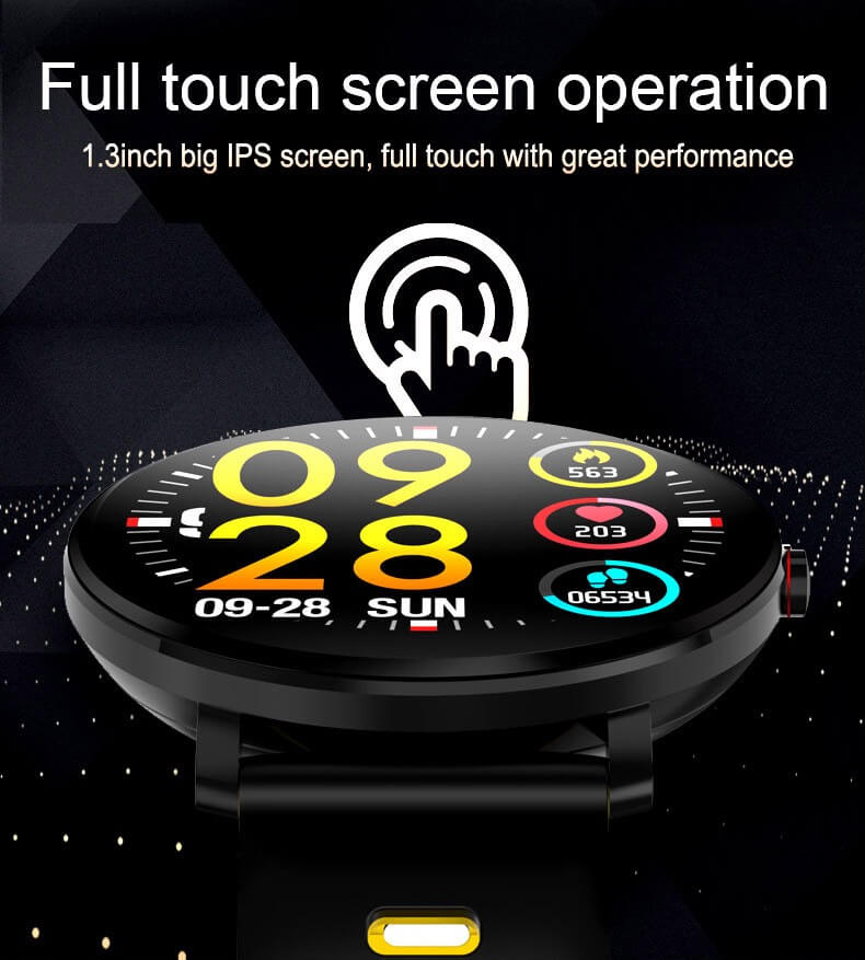 K9 Bracelet Heart Rate Smartwatch Waterproof Weather Forecast Smart Watch 2019 18