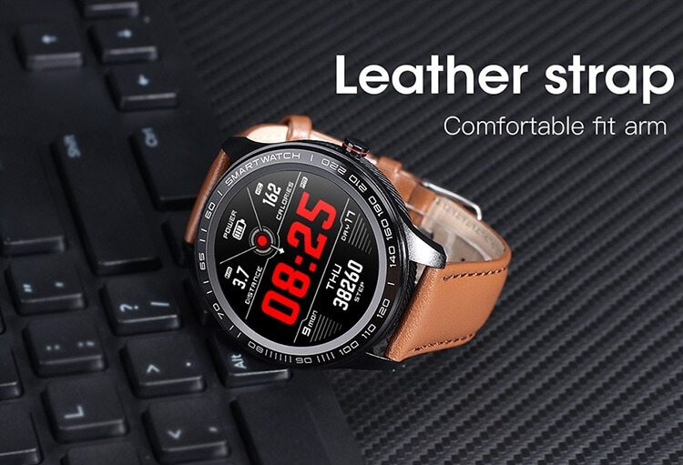 Cheap full touch screen smartwatch dynamic heart rate ECG PPG blood pressure L9 smart watch 42