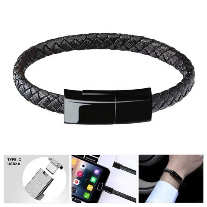 Charging cable bracelet premium gift type c usb cable bracelet 4