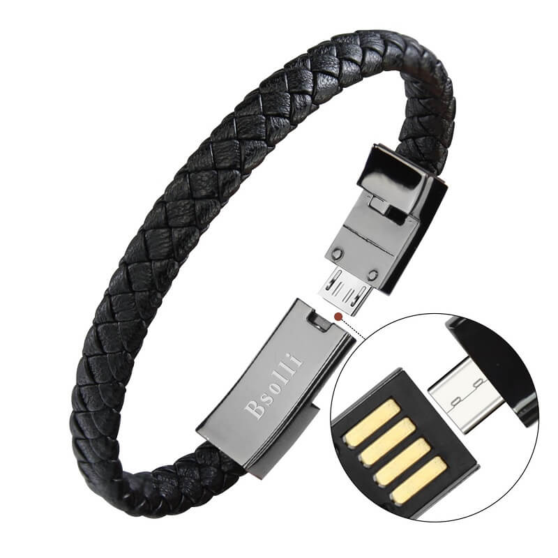Charging cable bracelet premium gift type c usb cable bracelet 20