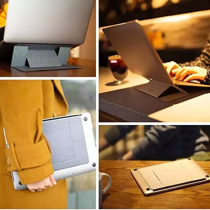 Folding Bracket for iPad MacBook Laptops Adjustable Laptop Stand 7