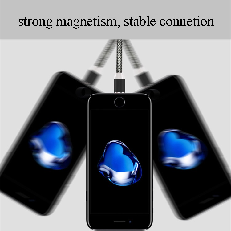 2019 newest 3 in 1 magnet USB charging cable magnetic cable 28