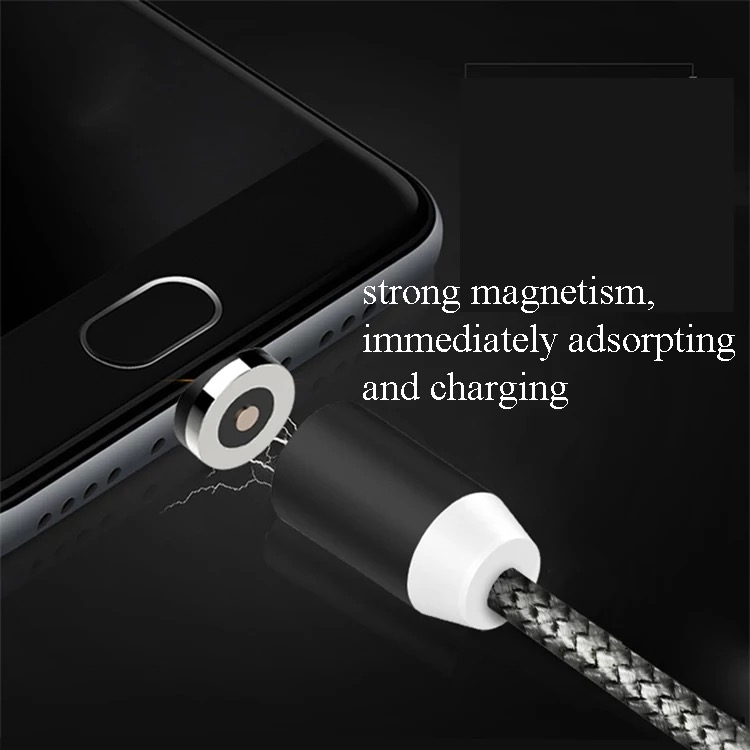 2019 newest 3 in 1 magnet USB charging cable magnetic cable 3
