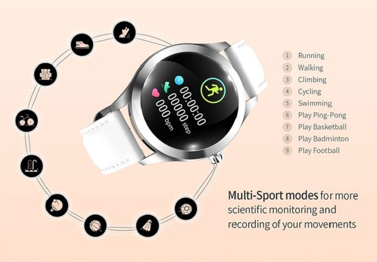 Cheap Top Selling Smartwatch Dynamic Heart Rate Smart Watch Fitness Tracker for Android IOS 22