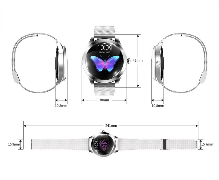 Cheap Top Selling Smartwatch Dynamic Heart Rate Smart Watch Fitness Tracker for Android IOS 34