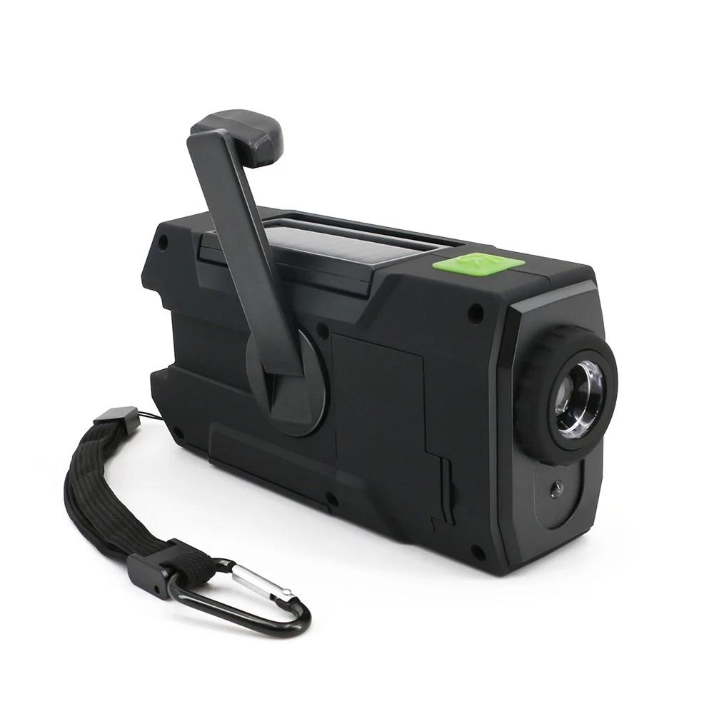 Solar Dynamo Radio Portable USB Charger Hand-cranked Flashlight 11