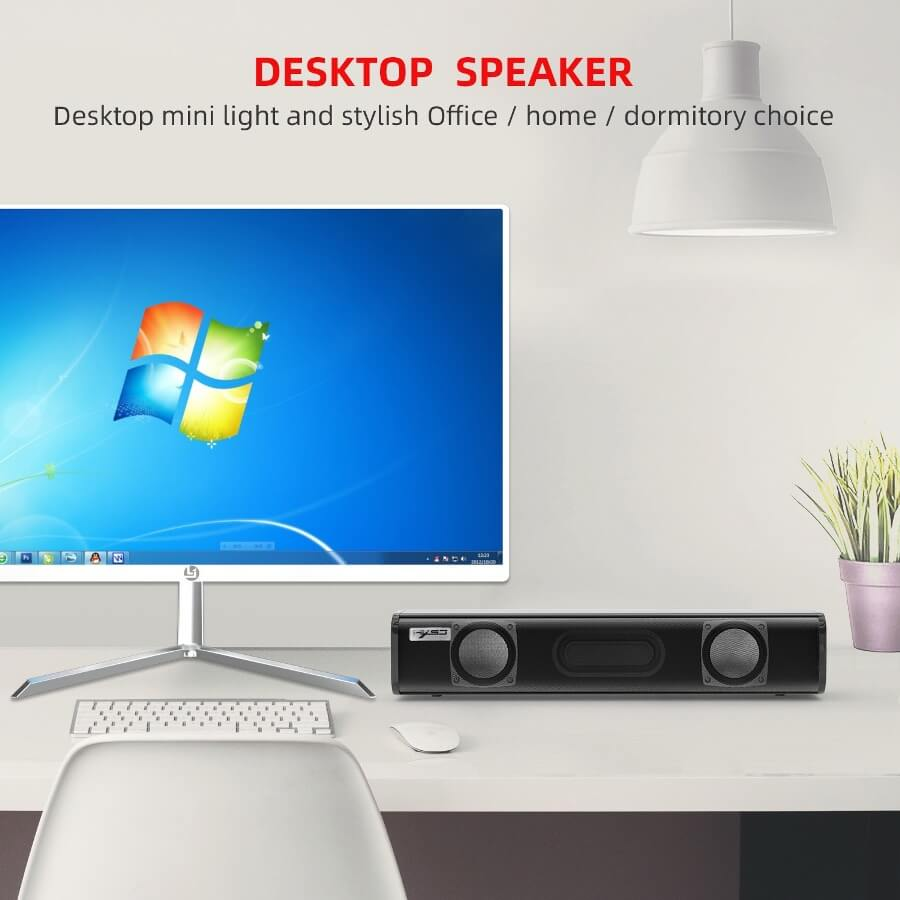 Strip audio Computer Speaker Bluetooth 5.0 Laptop Speaker 24