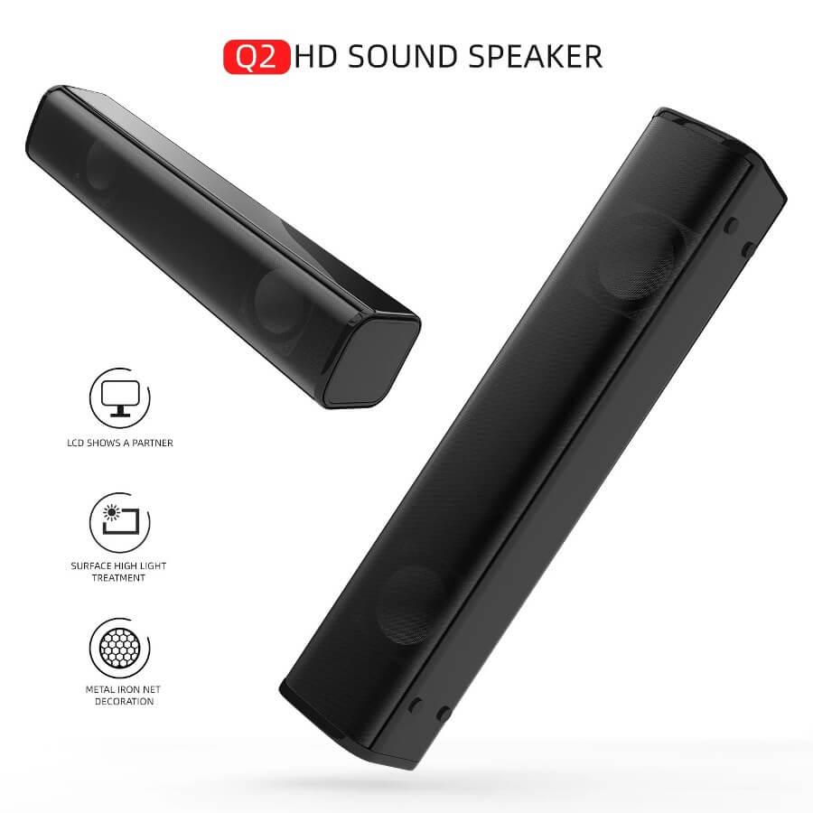Strip audio Computer Speaker Bluetooth 5.0 Laptop Speaker 3