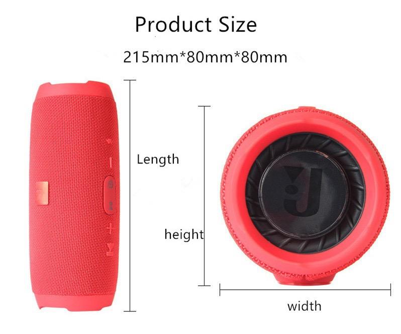 Waterproof Portable Wireless Bluetooth Speaker 14