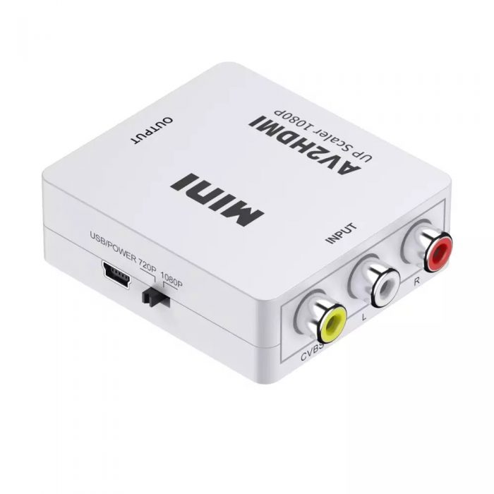 AV to HDMI Converter RCA to HDMI Adapter 2