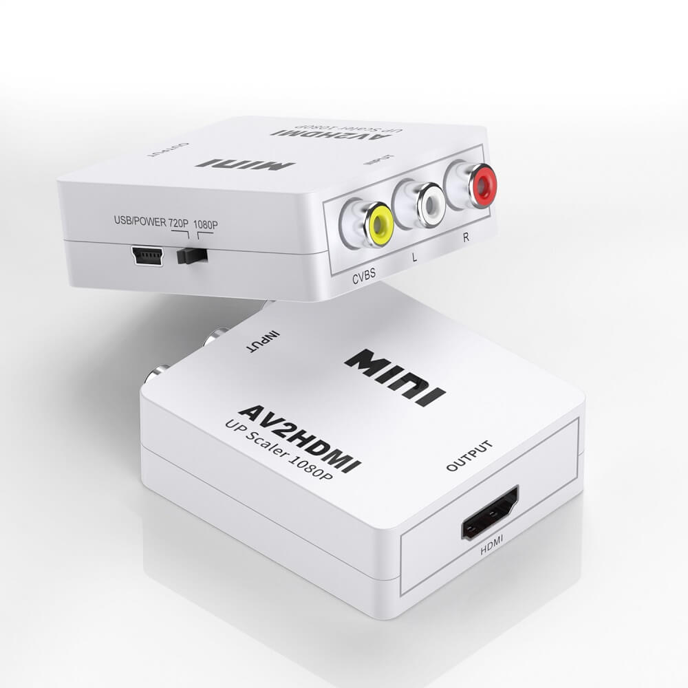 AV to HDMI Converter RCA to HDMI Adapter 7