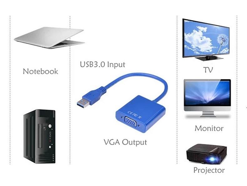 USB to VGA Adapter 12