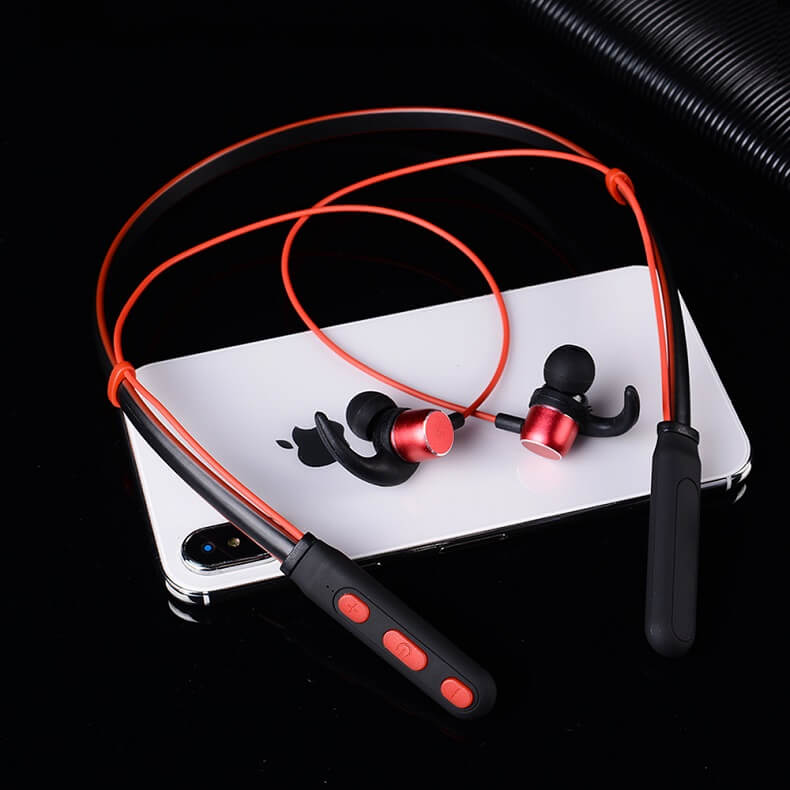New Trending Wireless Bluetooth Earphones H01 IPX4 Waterproof Sport Earbuds with Magnetic Connection 28