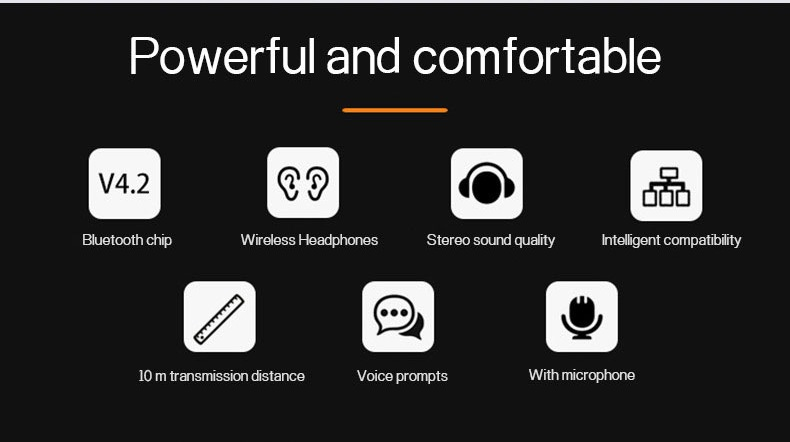 New Trending Wireless Bluetooth Earphones H01 IPX4 Waterproof Sport Earbuds with Magnetic Connection 10