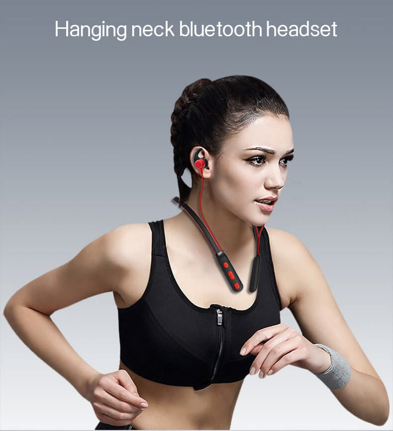 New Trending Wireless Bluetooth Earphones H01 IPX4 Waterproof Sport Earbuds with Magnetic Connection 16