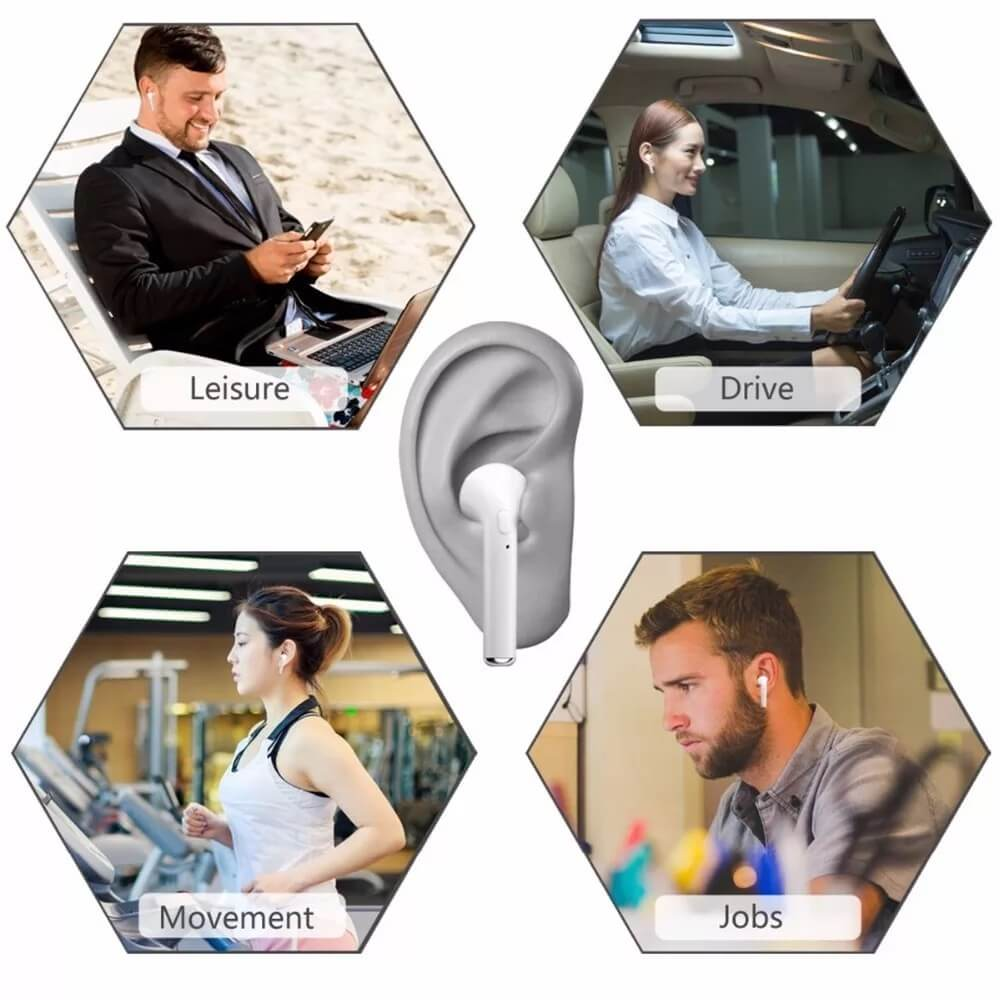 Best Hot Sale TWS Wireless Bluetooth Headset i7s Bluetooth Earphone Wireless 16