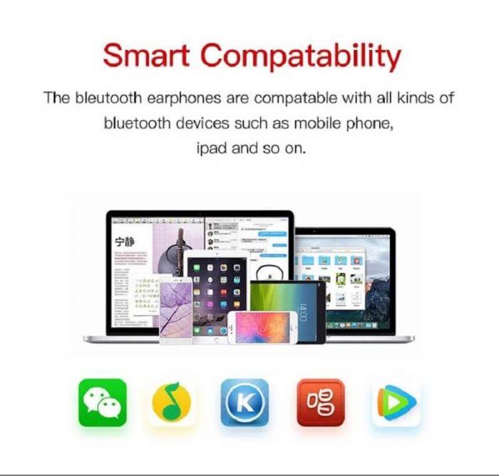 2020 New Arrival Bluetooth 5.0 T12 Wireless Earbuds Deep Bass Sports Earphone Premium Sound 8