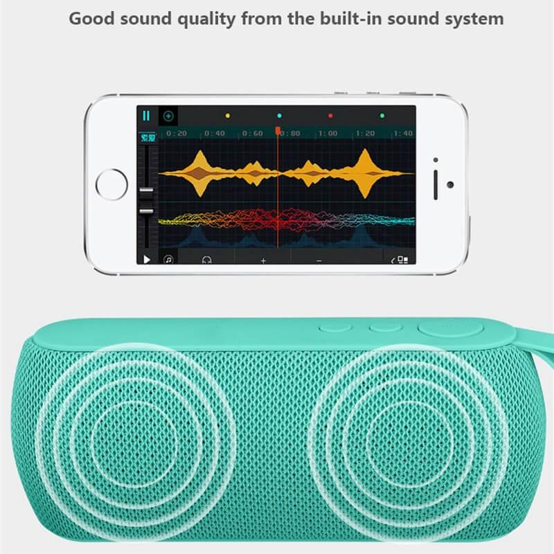 Q106 Super Bass Wireless Bluetooth Speaker Music Portable Speakers USB TF Card Sound Box 14