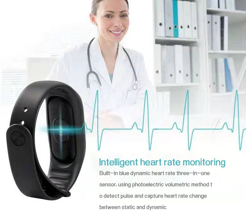 Low Price Cheap Smart Bracelet Sport Wristband Heart Rate Monitor 26