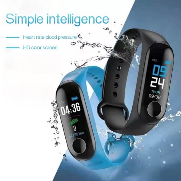 Low Price Cheap Smart Bracelet Sport Wristband Heart Rate Monitor 4