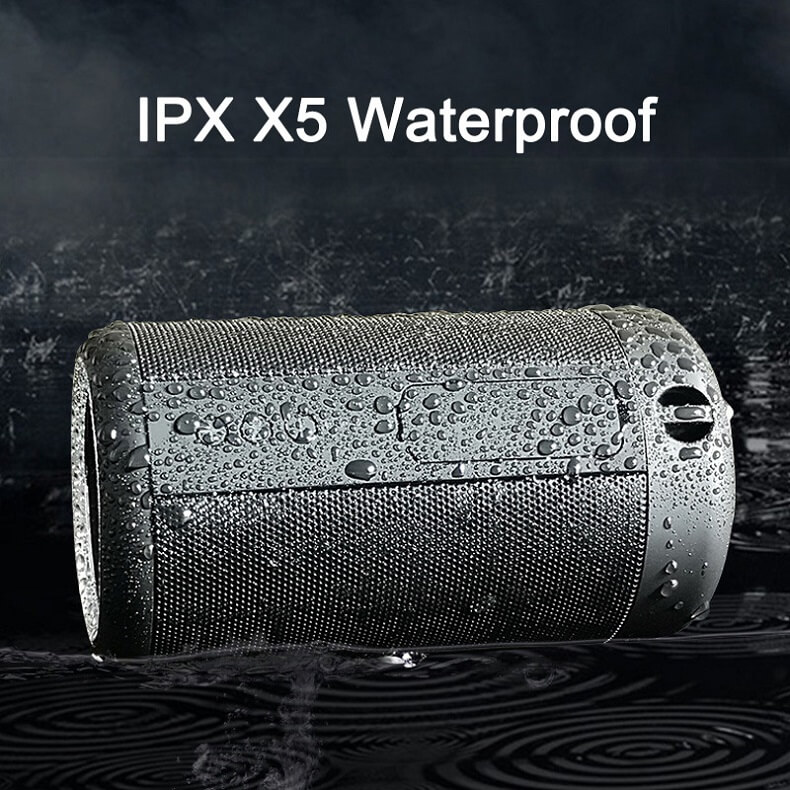 Super Bass IPX5 Waterproof Wireless Speaker Outdoor Power Bank Stereo Portable Bluetooth Speaker 20