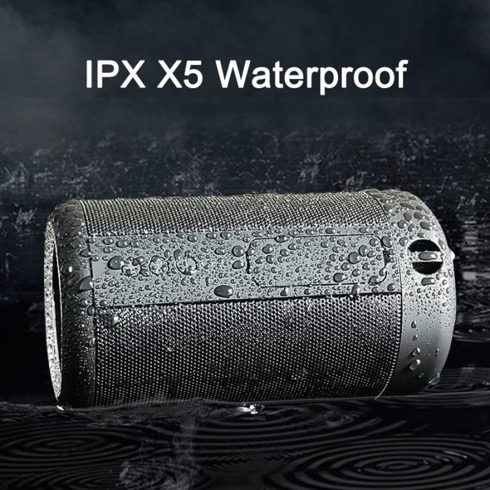 Super Bass IPX5 Waterproof Wireless Speaker Outdoor Power Bank Stereo Portable Bluetooth Speaker 6