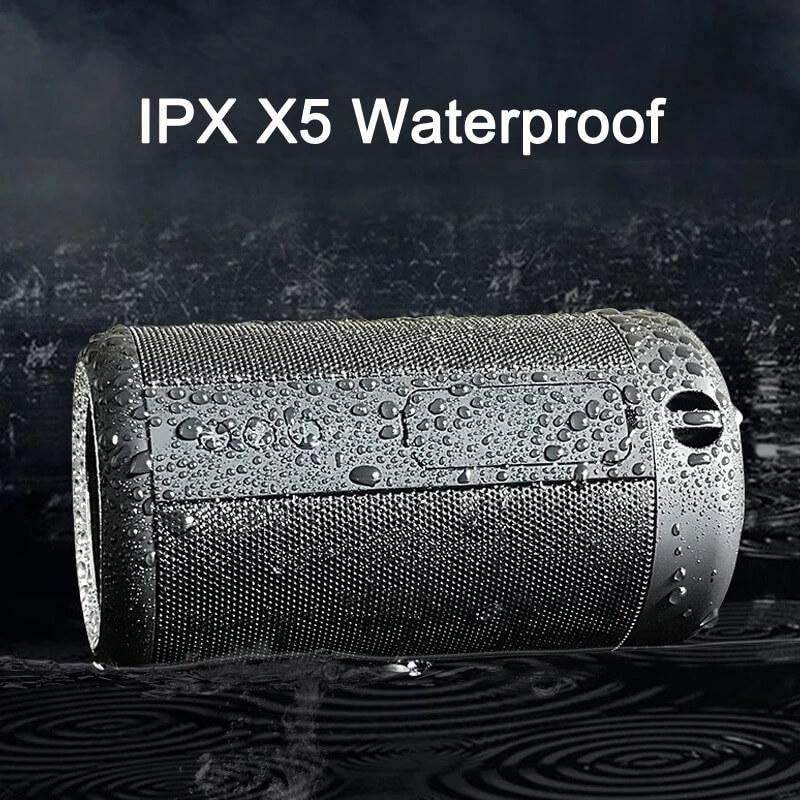 Super Bass IPX5 Waterproof Wireless Speaker Outdoor Power Bank Stereo Portable Bluetooth Speaker 5