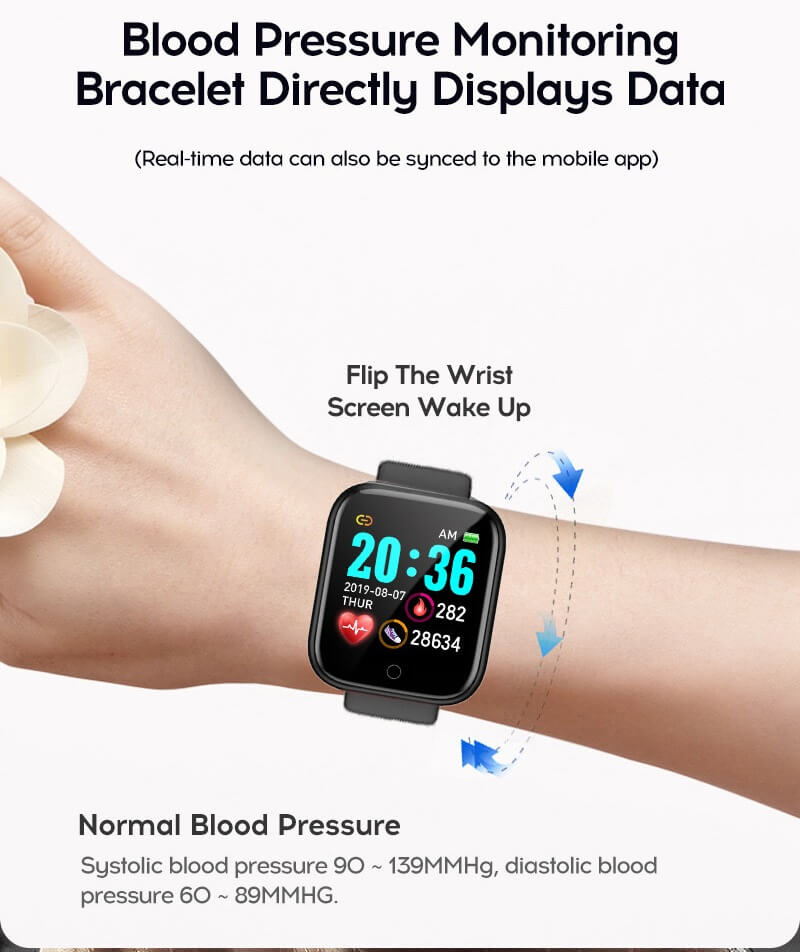 Y68 Smart Watch Sports Bluetooth Watch Cheap Promotional Gift 30