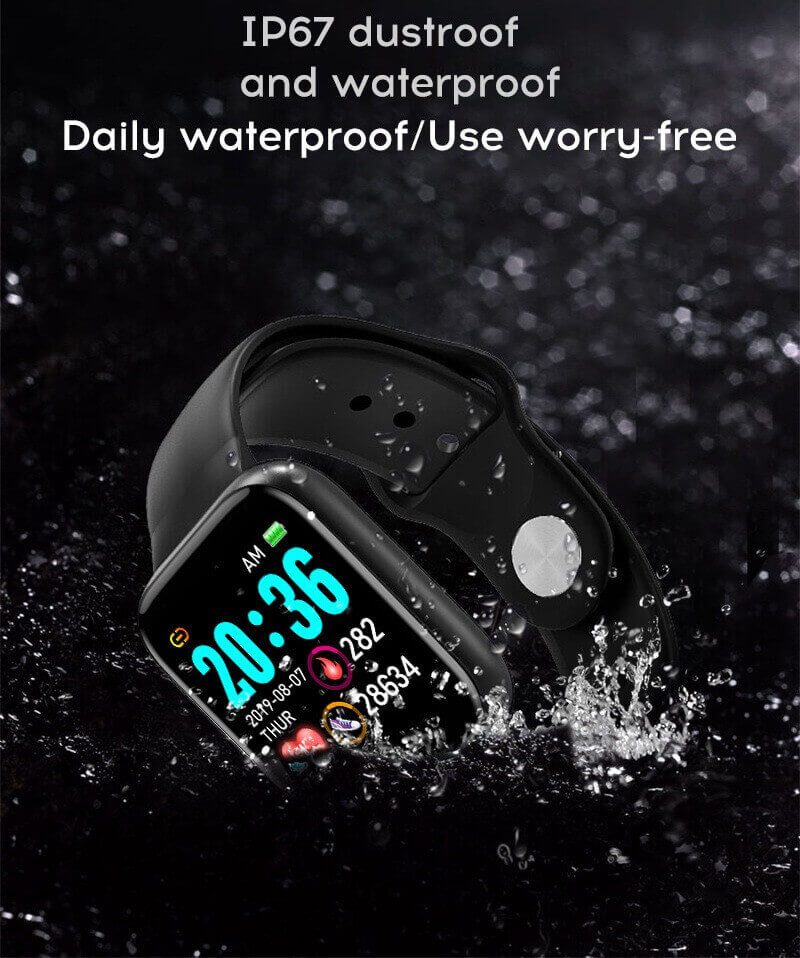 Y68 Smart Watch Sports Bluetooth Watch Cheap Promotional Gift 32