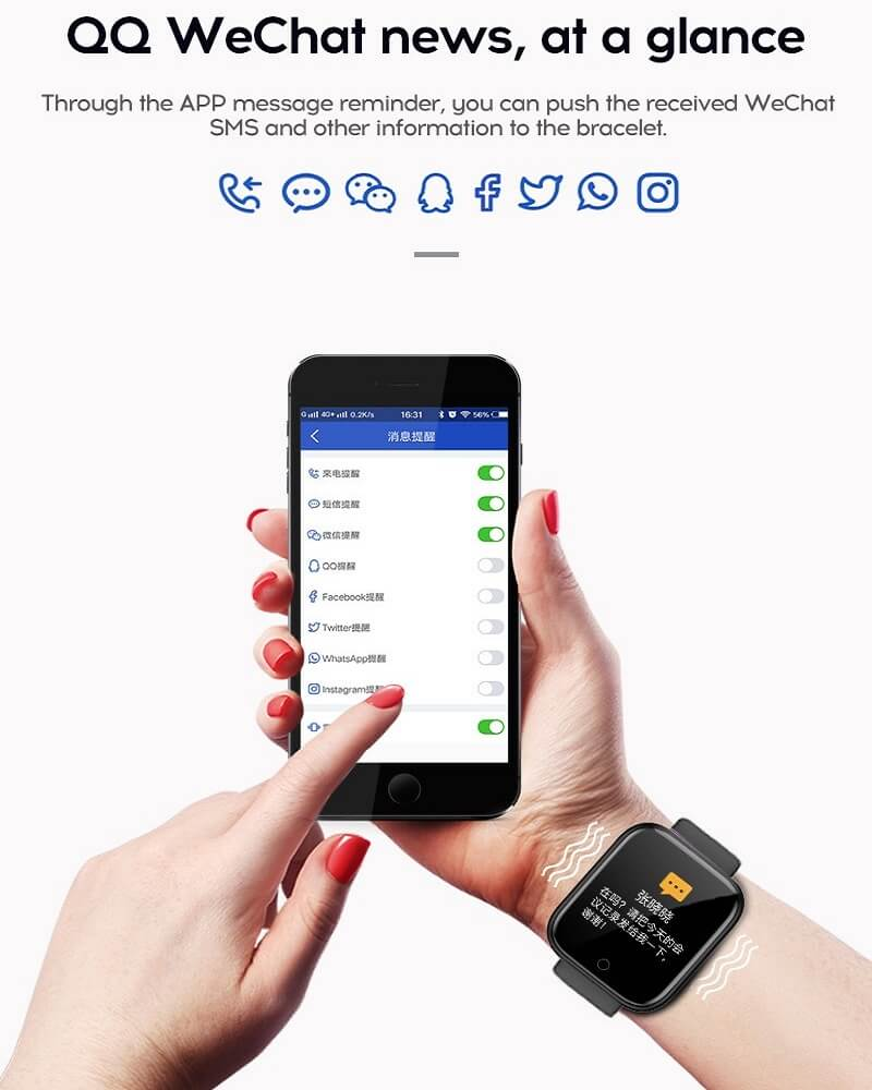 Y68 Smart Watch Sports Bluetooth Watch Cheap Promotional Gift 38