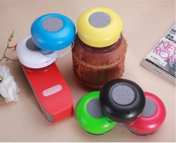 BTS06 IPX4 waterproof sucker Bluetooth speaker mobile phone wireless mini speaker 10