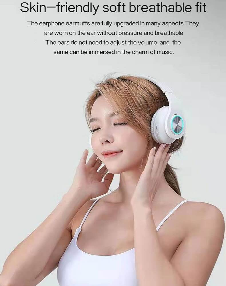 2020 Cheaper Sports Stereo Wireless Headset Foldable Wired Earphones 22