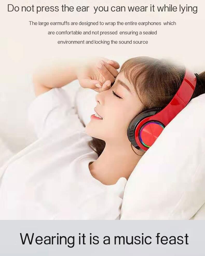 2020 Cheaper Sports Stereo Wireless Headset Foldable Wired Earphones 24