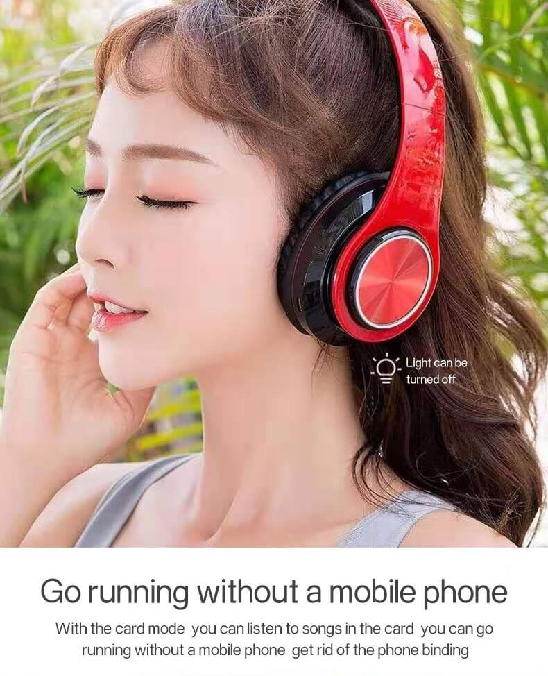 2020 Cheaper Sports Stereo Wireless Headset Foldable Wired Earphones 28